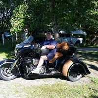 2017 Indian Roadmaster California Sidecar, 1