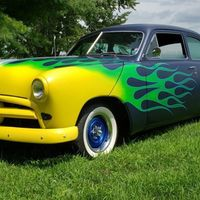 1949 Ford Shoebox Custom, 2