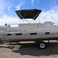 2004 Sun Tracker Signature Series Fishing Barge 21, 16