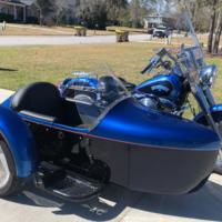 1994 Harley Davidson Fatboy with Custom Sidecar, 1