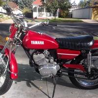1972 YAMAHA CT 175, 1