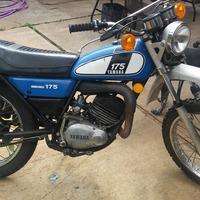 1975 Yamaha DT175, 2