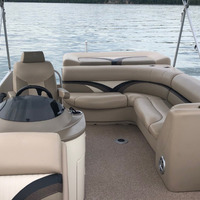 2016 Play Craft Hampton 2485 XLT tritoon, 2
