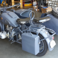 1943 BMW R75, 2