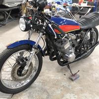 1974 Kawasaki H1E, 4