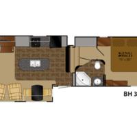 2013 Heartland Bighorn 3585RL, 10