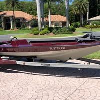 1987 Storm Boats Bass Boat, 0