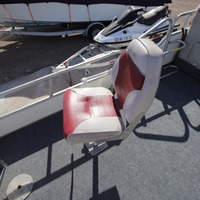 1988 Lowe Model 180 Pontoon, 6