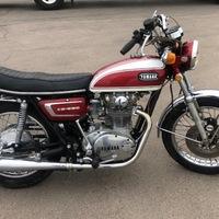 1972 Yamaha XS650, 3