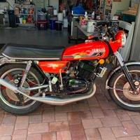 1975 Yamaha RD 350, 5