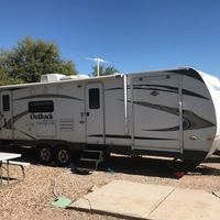 2011 Keystone Outback 280RS white, 0