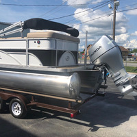 2016 Play Craft Hampton 2485 XLT tritoon, 1