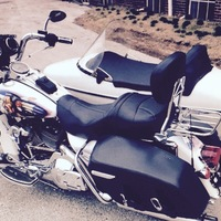 2003 Harley Davidson Road King with sidecar, 0