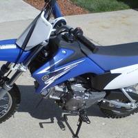 2009 Yamaha TT-R110EY, 4