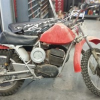 1970 Husqvarna 400 Cross, 2