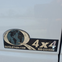 2007 Quigley 4x4 Ford E250 Stealth Camper Van Quigley 4x4 Ford E250  Stealth Camper Van, 16