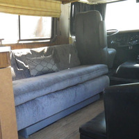 1978 TRAVCO 270 Exterior brown & gold, 5