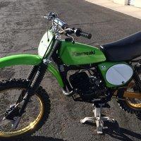 1978 Kawasaki A4 KX 125, 1