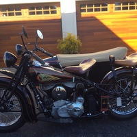 1939 Indian Motorcycle Chief, 8