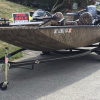 2016 G3 Boats Sportsman 17 Camo, 0