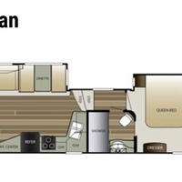 2016 KEYSTONE 5TH WHEEL COUGAR 288RLS, 21