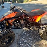 2008 KTM 525 XC ATV, 1