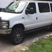 2014 Ford Econoline E350 XLT Wagon Quigley 4X4 2018, 0