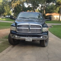 2004 Dodge Ram 3500 Black, 4