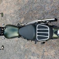 2012 Triumph T100 Scrambler 900 Khaki, 7